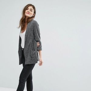ASOS Gray Textured Soft Blazer